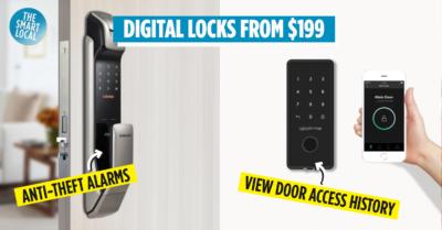 Best digital locks in Singapore