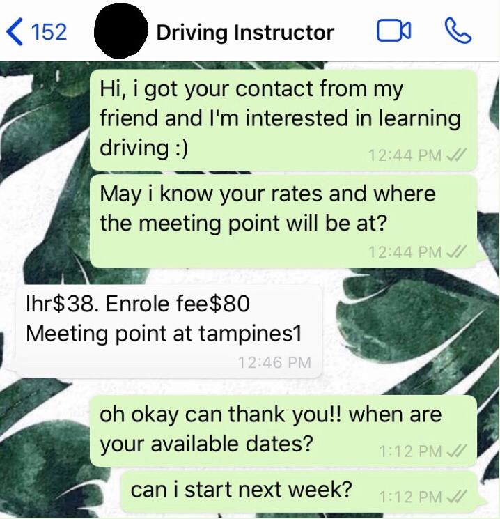 driving-in-singapore - private driving lesson