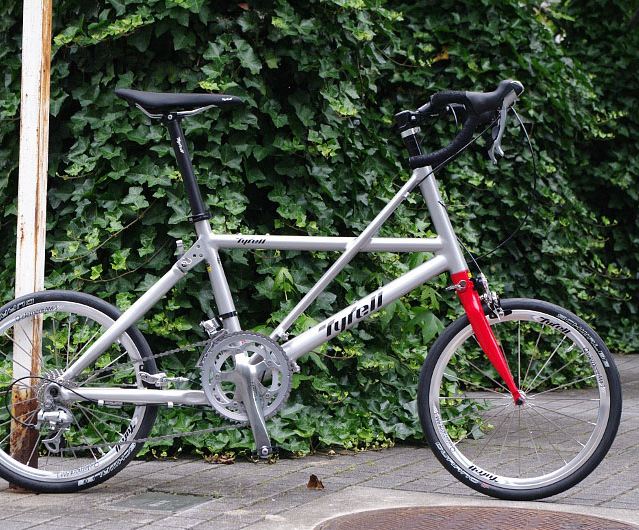 tyrell fx folding road bicycle