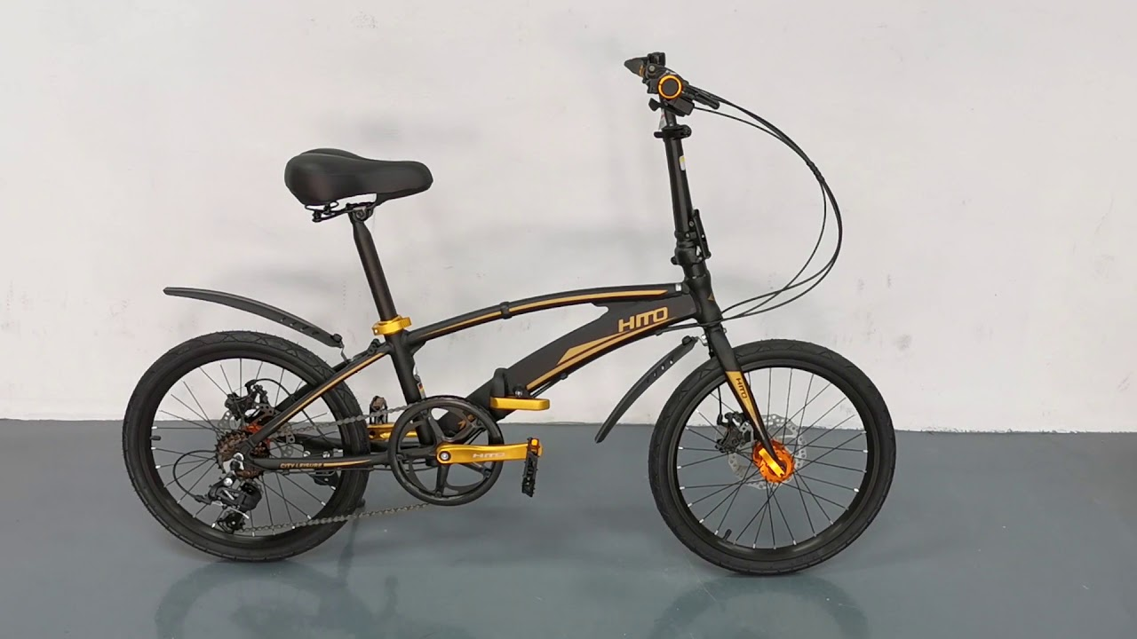 hito x6 - best foldable bicycles in singapore