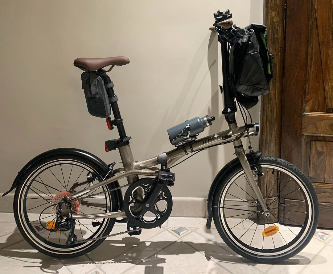 """decathlon btwin tilt 500 20"""" - best foldable bicycles in singapore"""