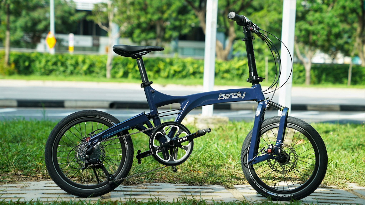 birdy touringplus - best foldable bicycles in singapore
