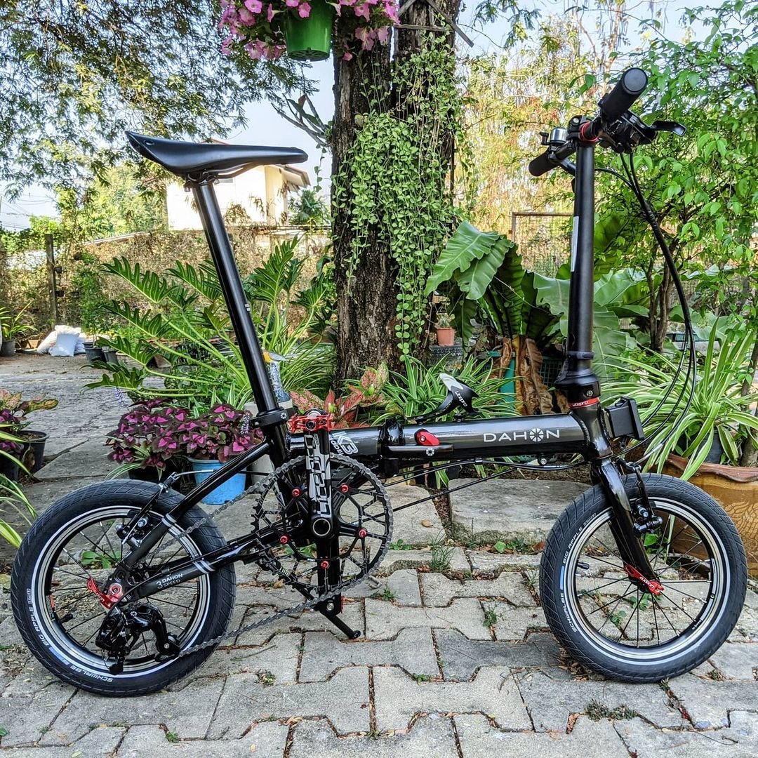 dahon k3 only weighs 8.1KG - best foldable bicycles in singapore