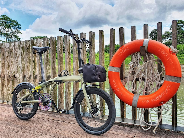 Java Zelo V2 - best foldable bicycles in singapore