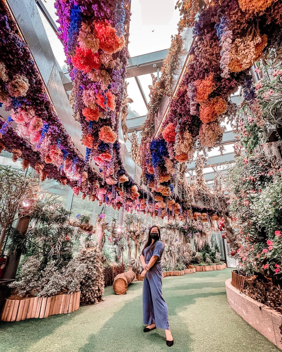 gardens by the bay - Flower Dome - Floral Fantasy