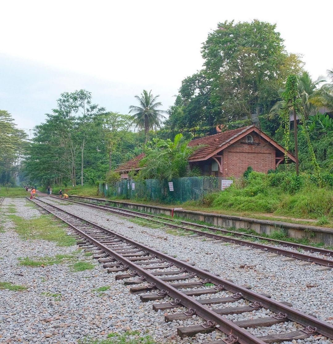 green corridor - Old Bukit Timah Railway Station