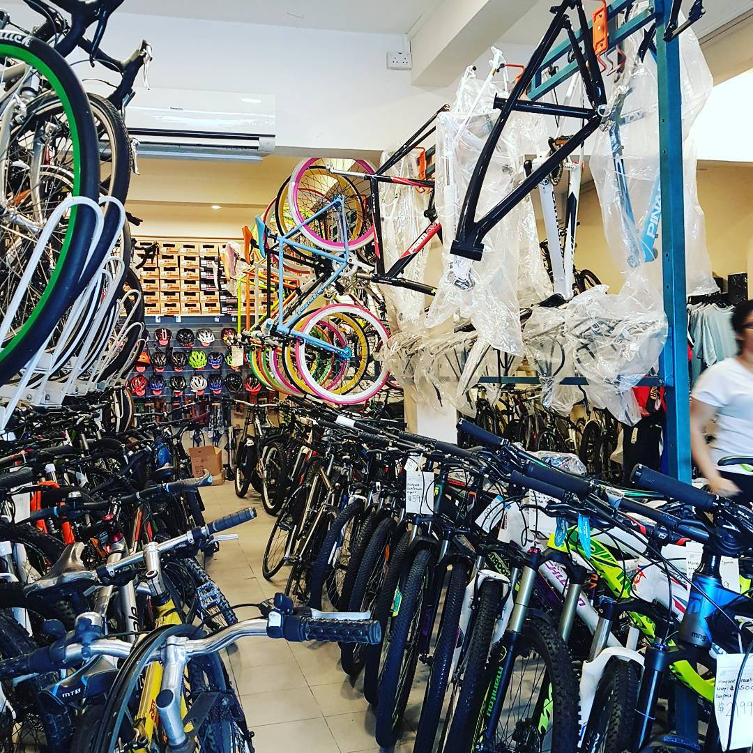 bicycle shop singapore
