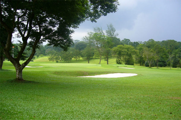Places to golf - The Singapore Island Country Club
