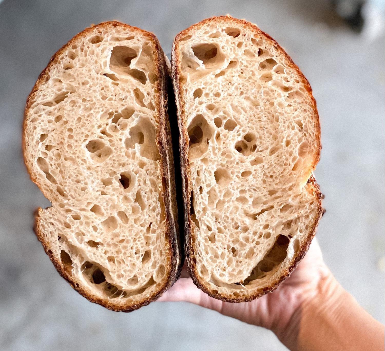 yeast side sourdough