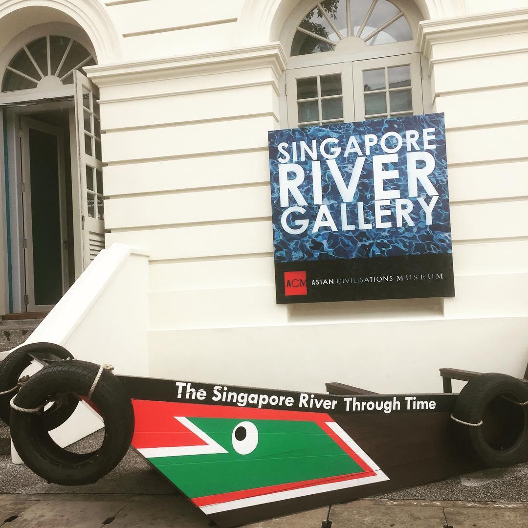Asian Civilisations Museum - Singapore River Gallery