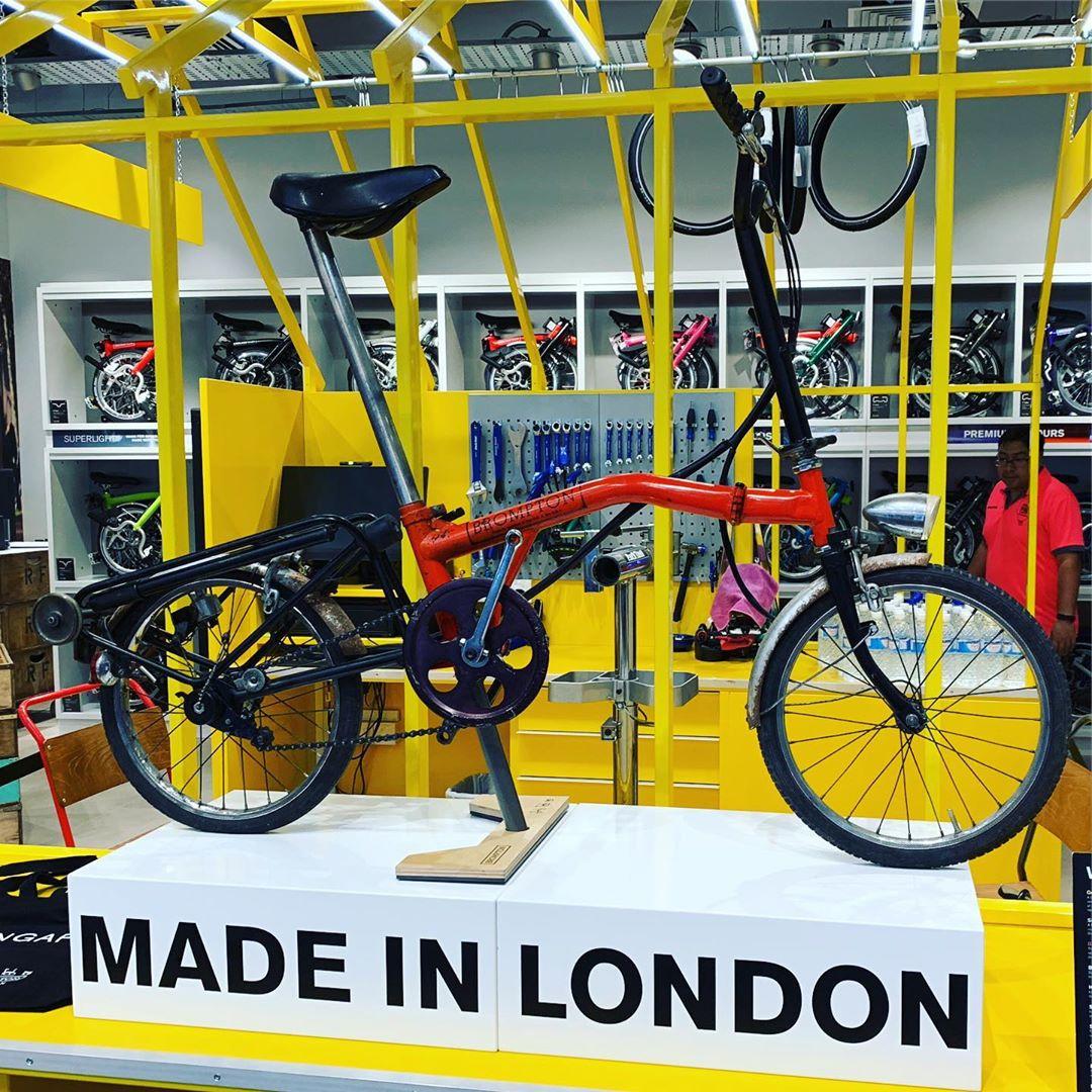 brompton bike shop