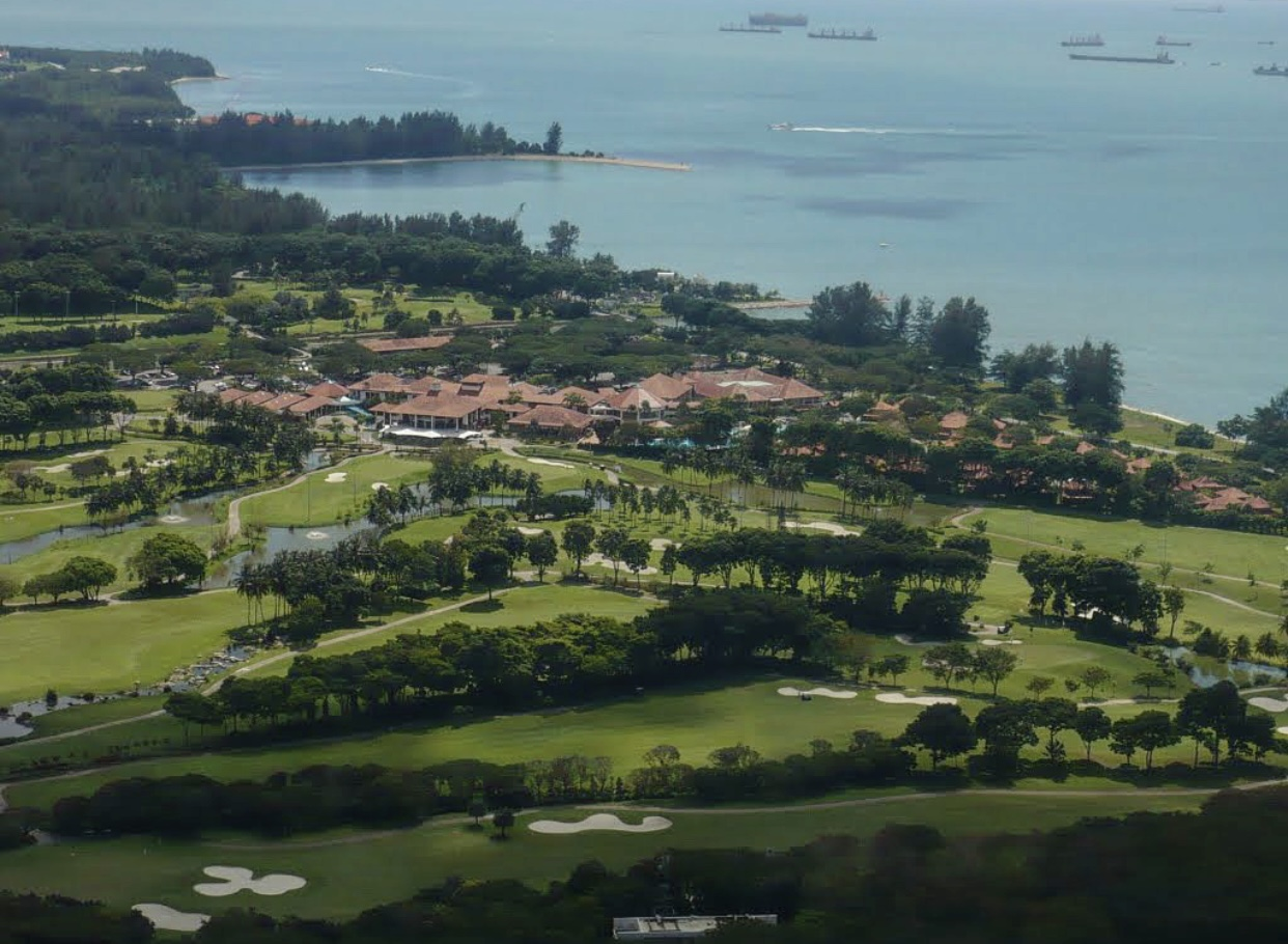 Places to golf - Changi Golf Club