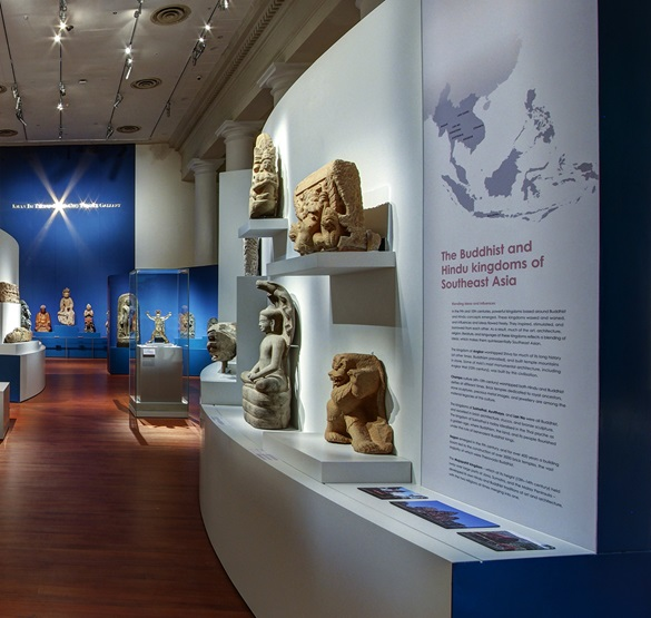 Asian Civilisations Museum - Ancient Religions Gallery