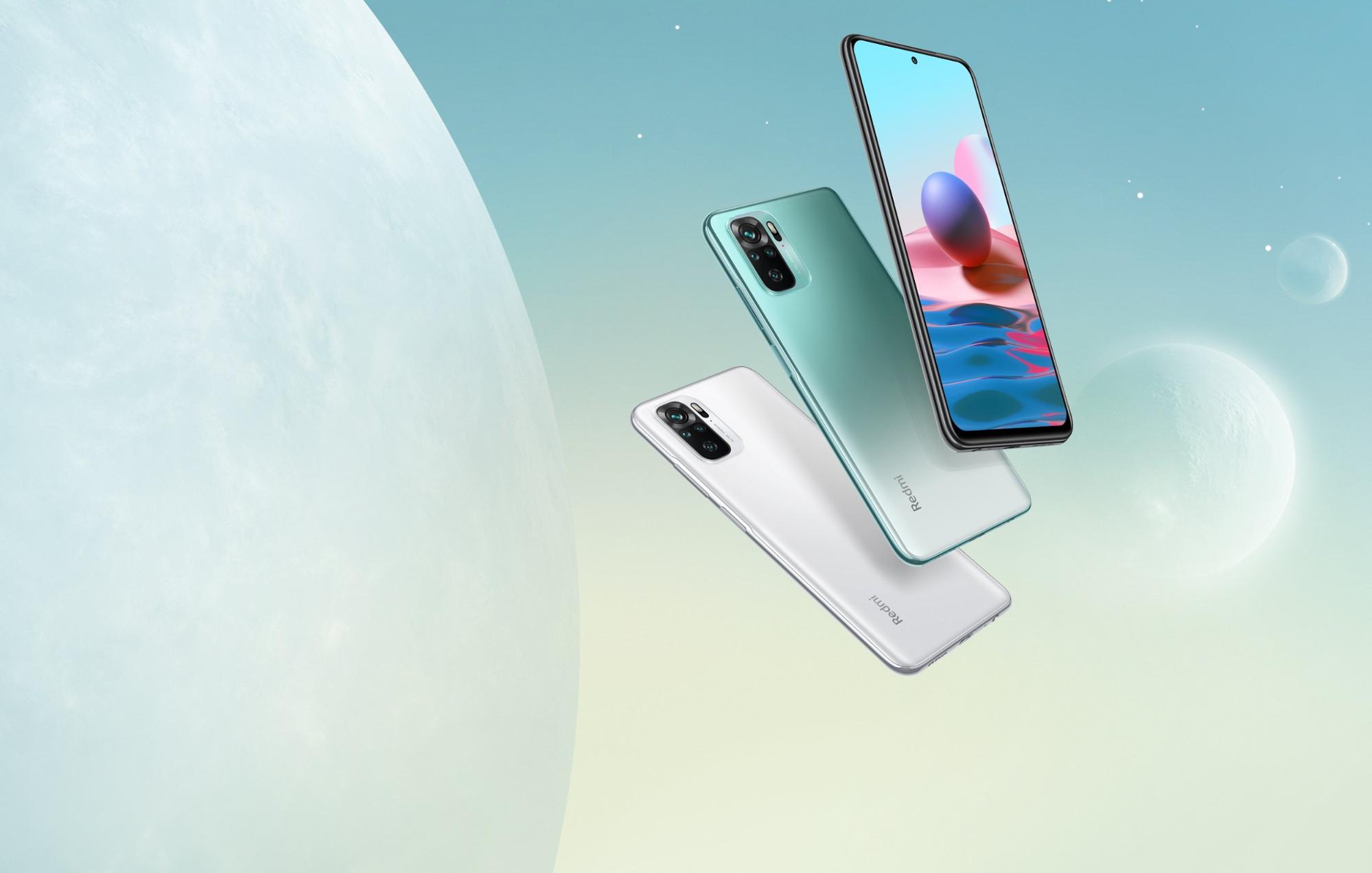 The Xiaomi Redmi Note 10