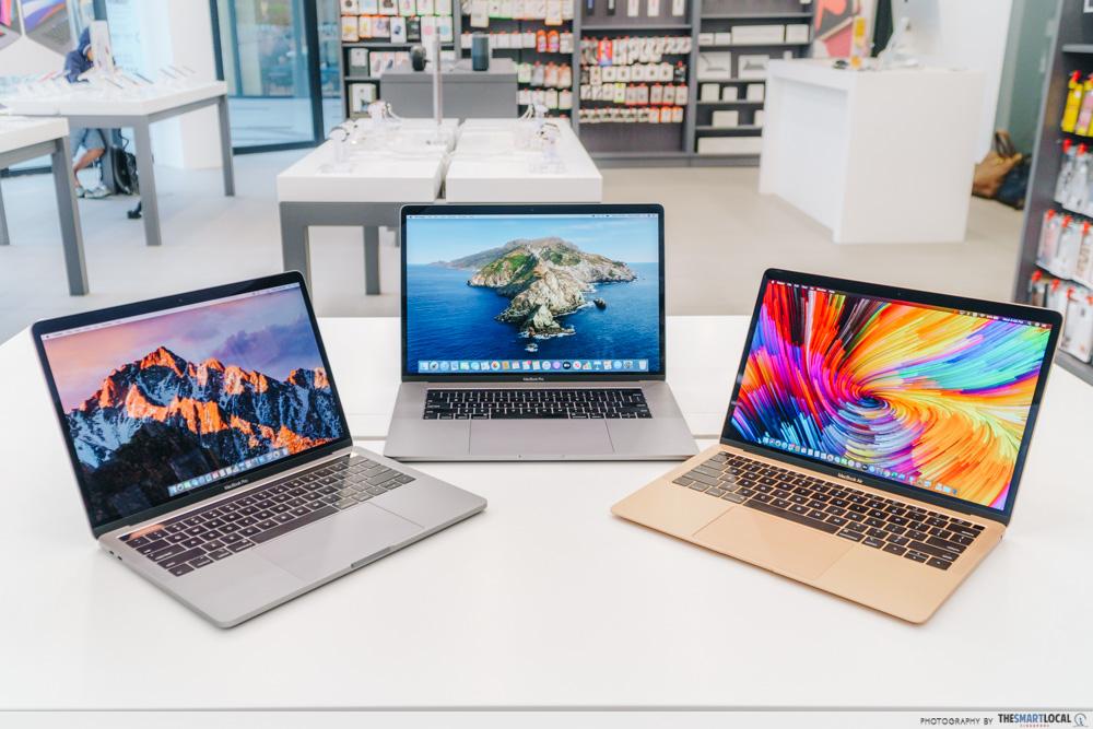 Apple MacBook lineup