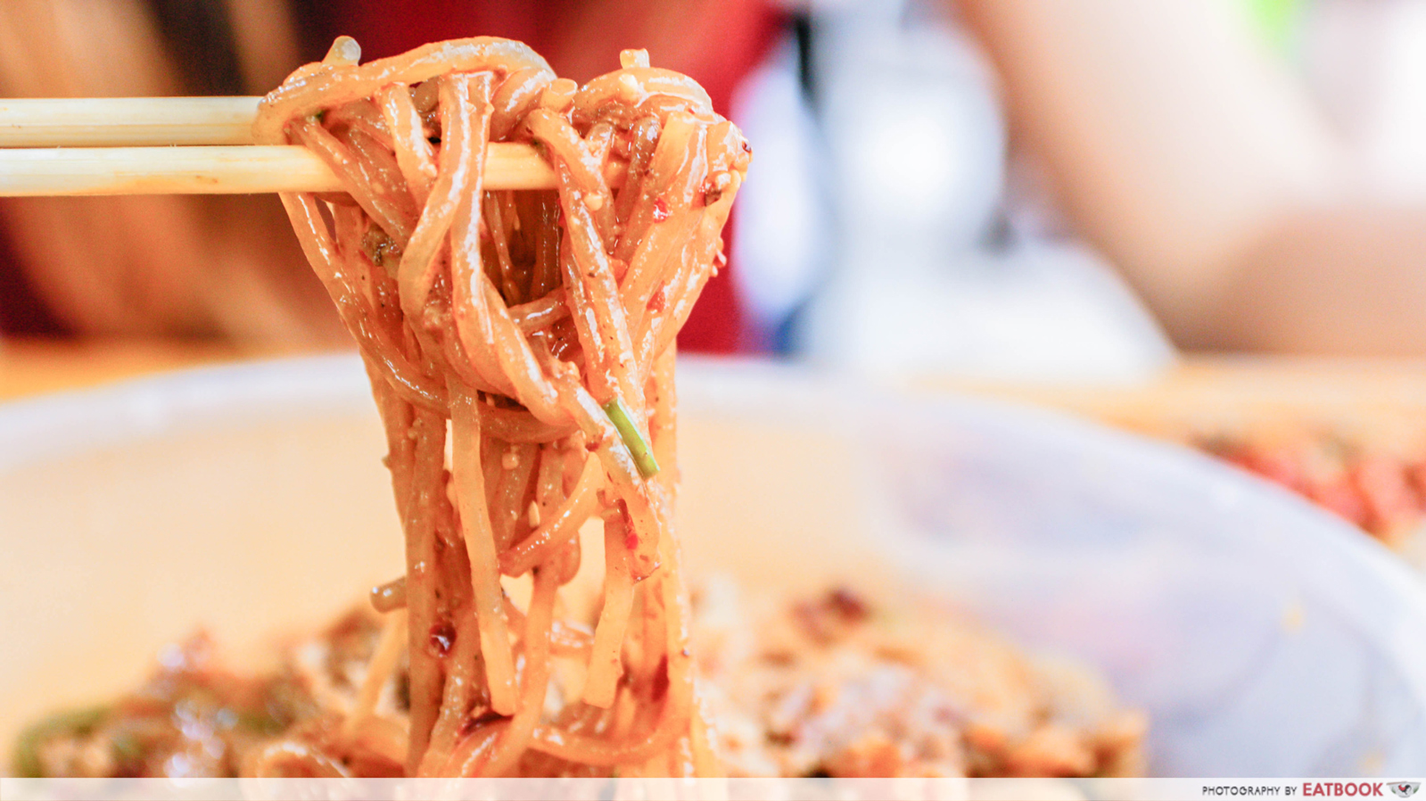 peanut gravy mala noodles