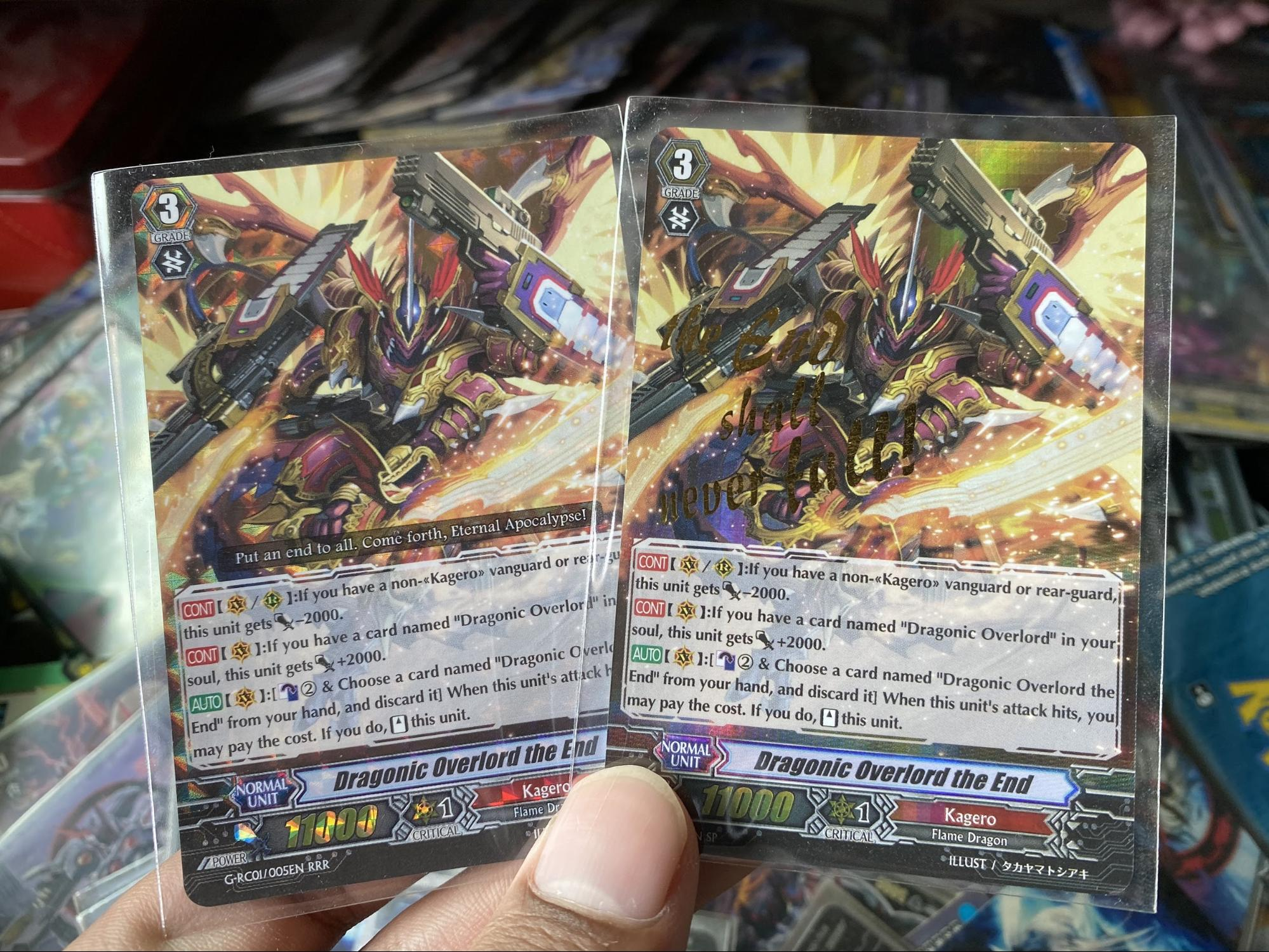 Cardfight! Vanguard special cards