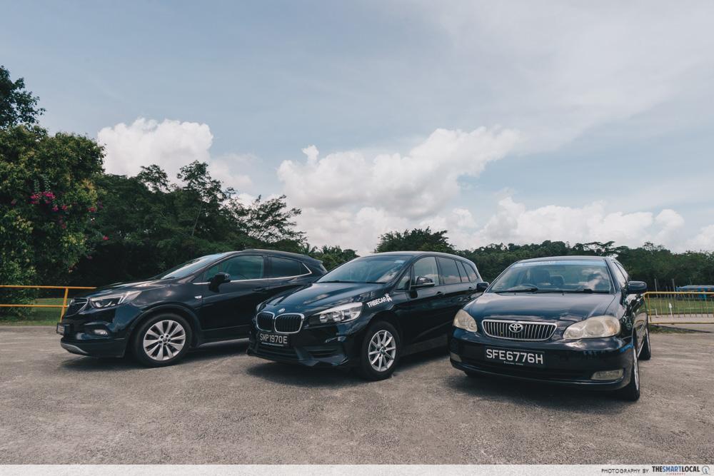 BMW Audi Tribecar car choices