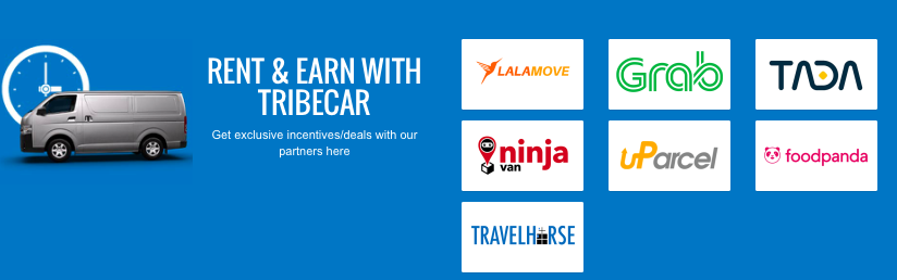 drive earn car sharing tribecar