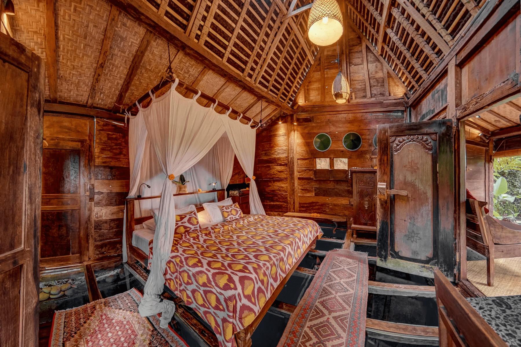 underwater hotels - Bambu Inda Hotel, Bali