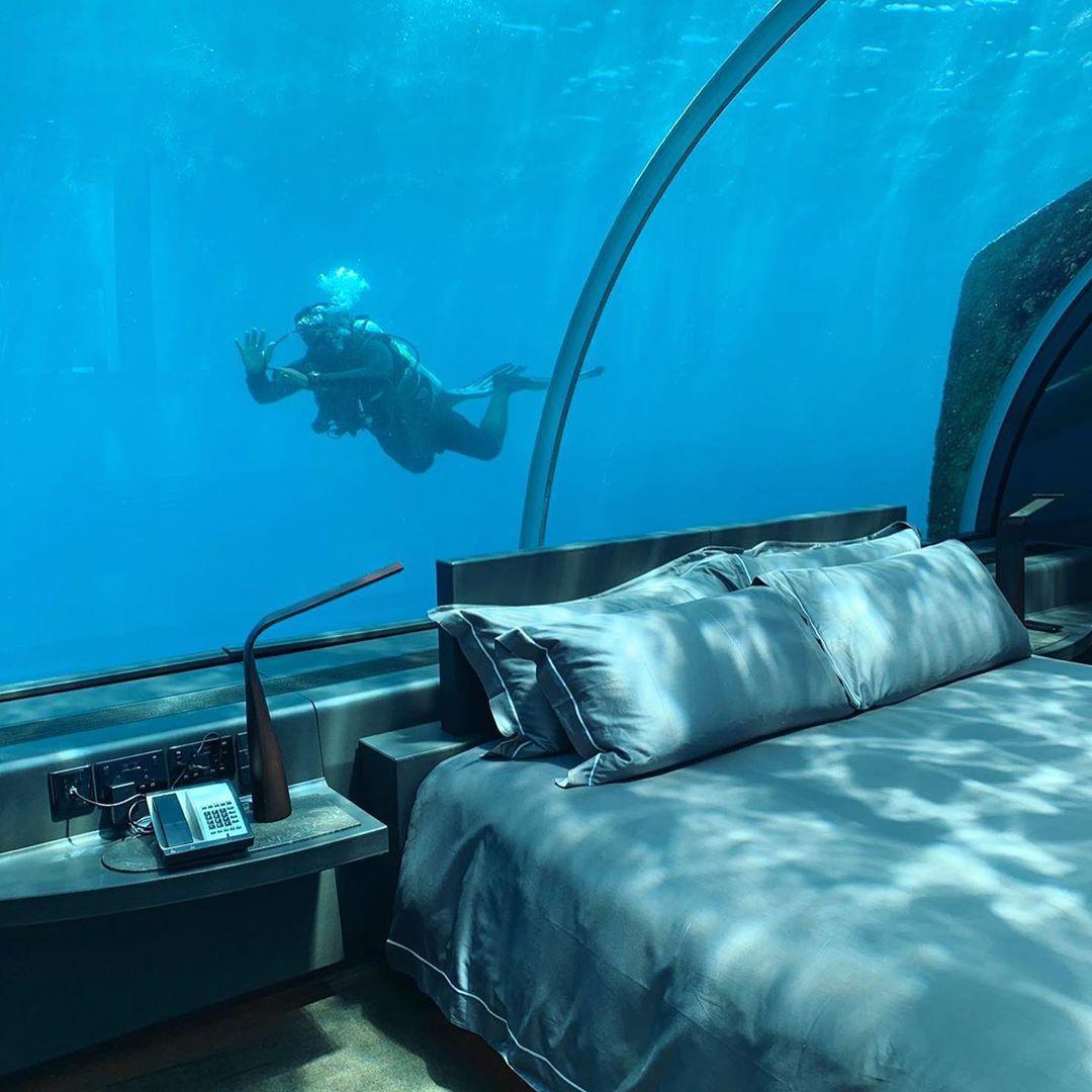 underwater hotels - Conrad Rangali Island Resort, Maldives