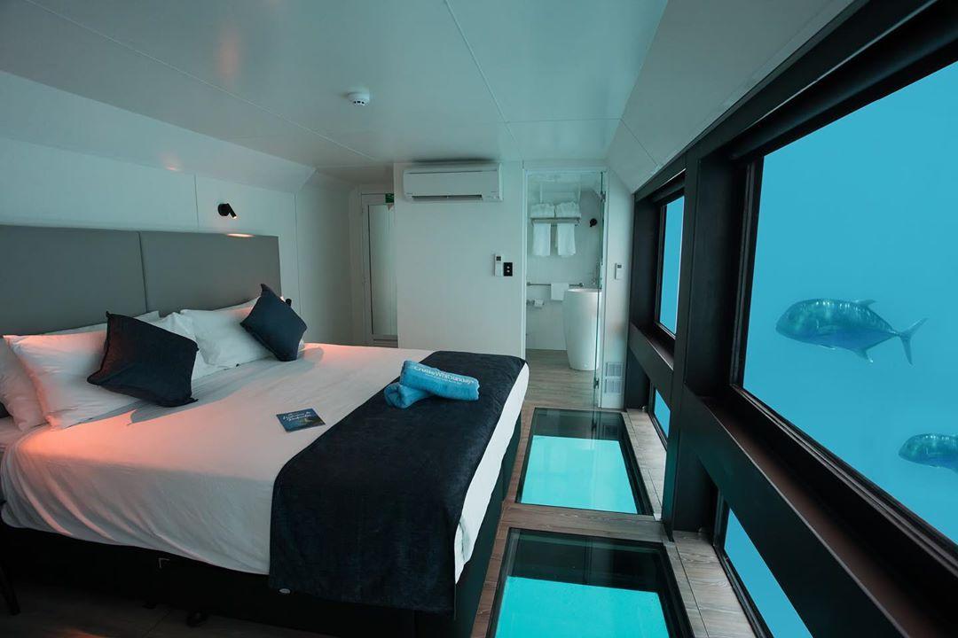 underwater hotels - Reefworld, Australia