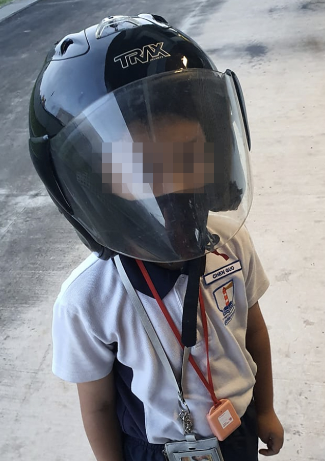 wholesome things singapore 2021 - lost kid - motorbike ride