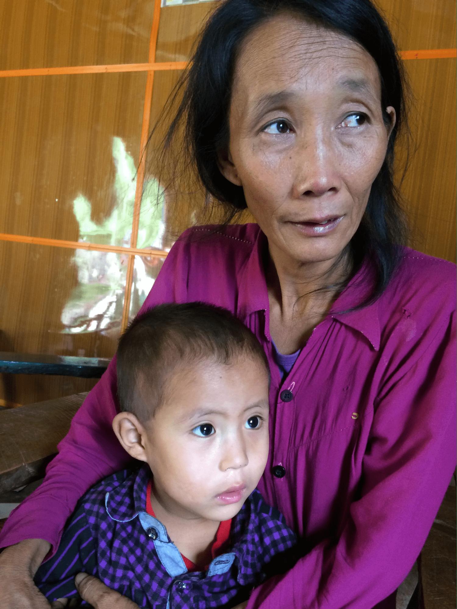 Myanmar helper Piang Ngaih Don