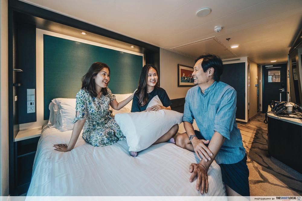 world dream cruise - stateroom