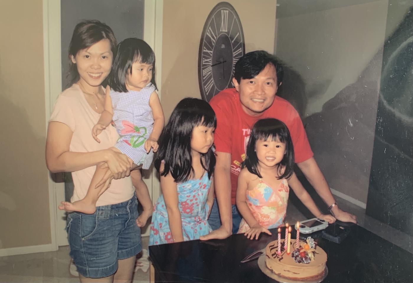 world dream cruise - isabelle's family