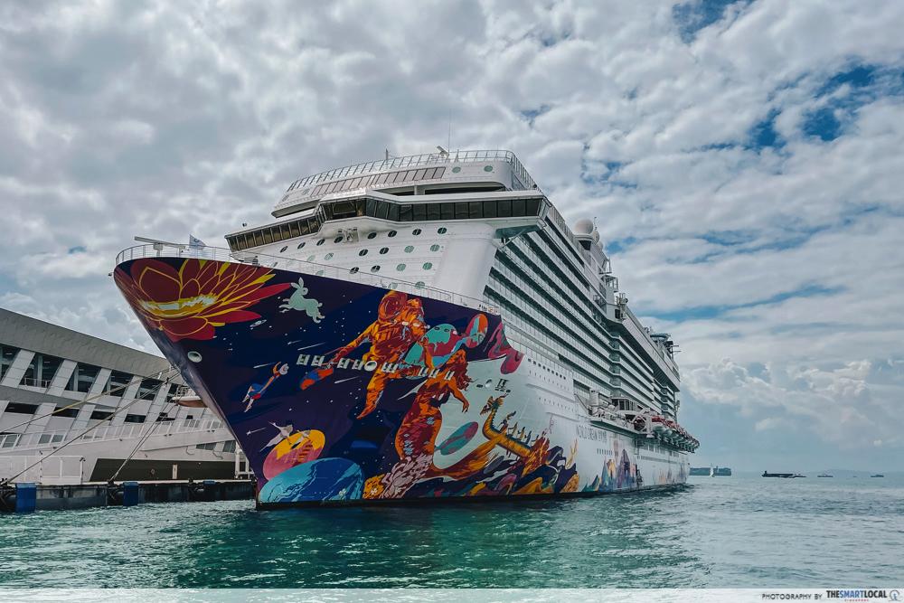 world dream cruise exterior