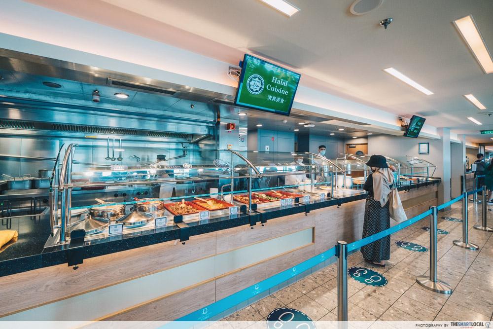 world dream cruise - halal dining