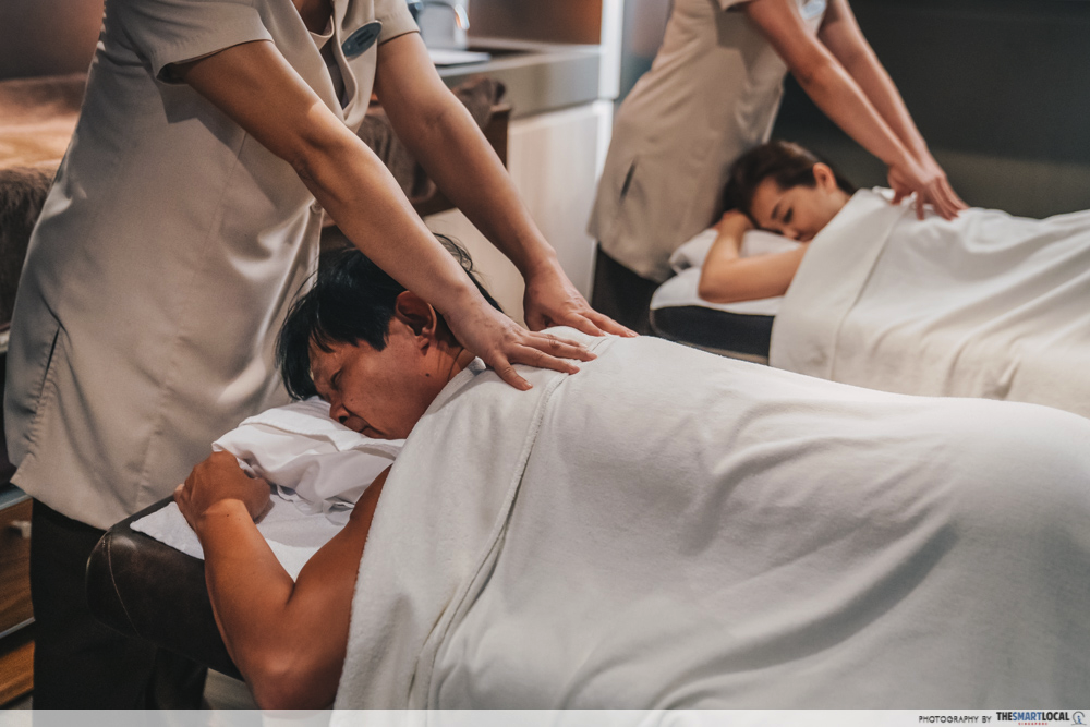 massage and spa on board the world dream