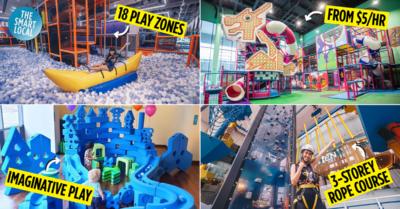 Best indoor playgrounds in Singapore