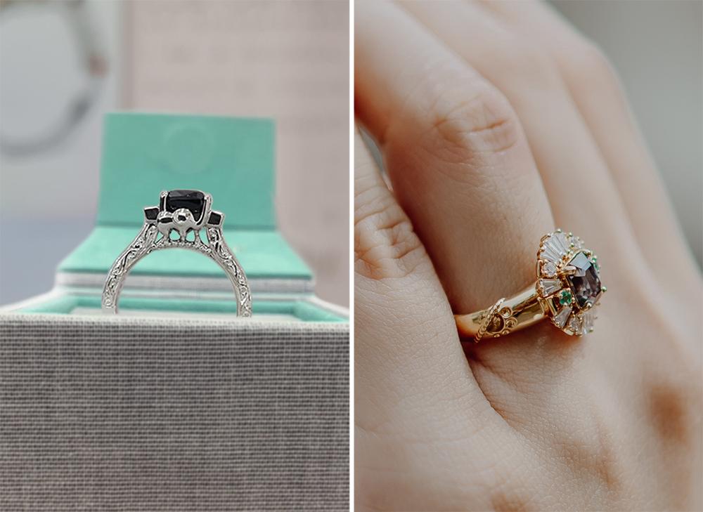 Madly Gems Animal Engagement Ring