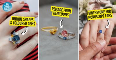 Unique Engagement Rings in Singapore