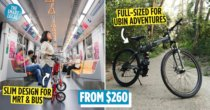 10 Best Foldable Bicycles In Singapore For Night Cycling & Park Connector Rides While Saving Space At Home
