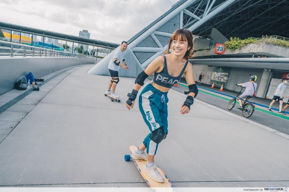 SG Spark Squad Longboarding