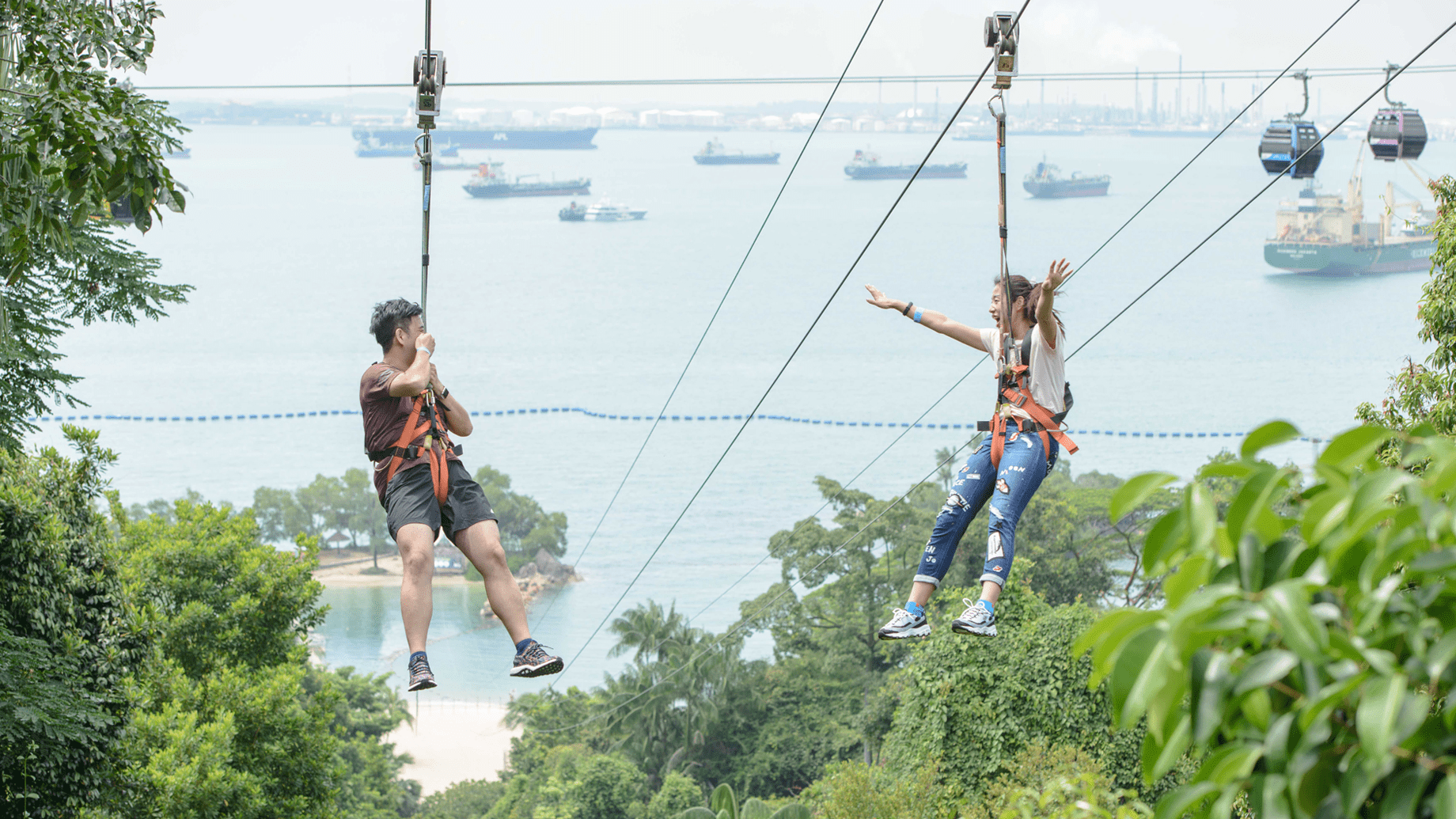 Active Outing Ideas - MegaZip Flying Fox