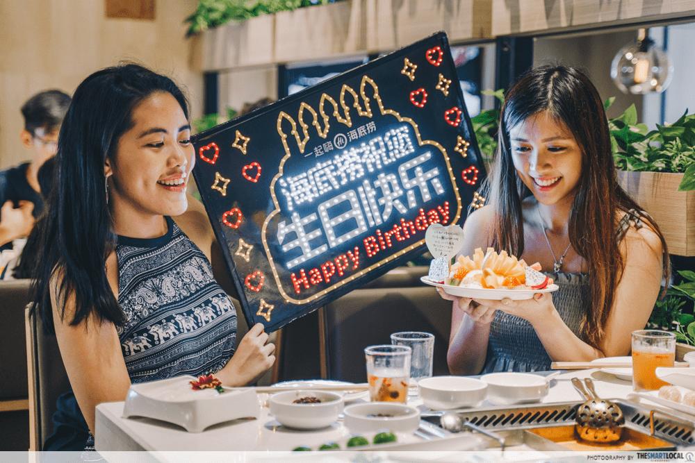 Hai Di Lao Birthdays in Singapore