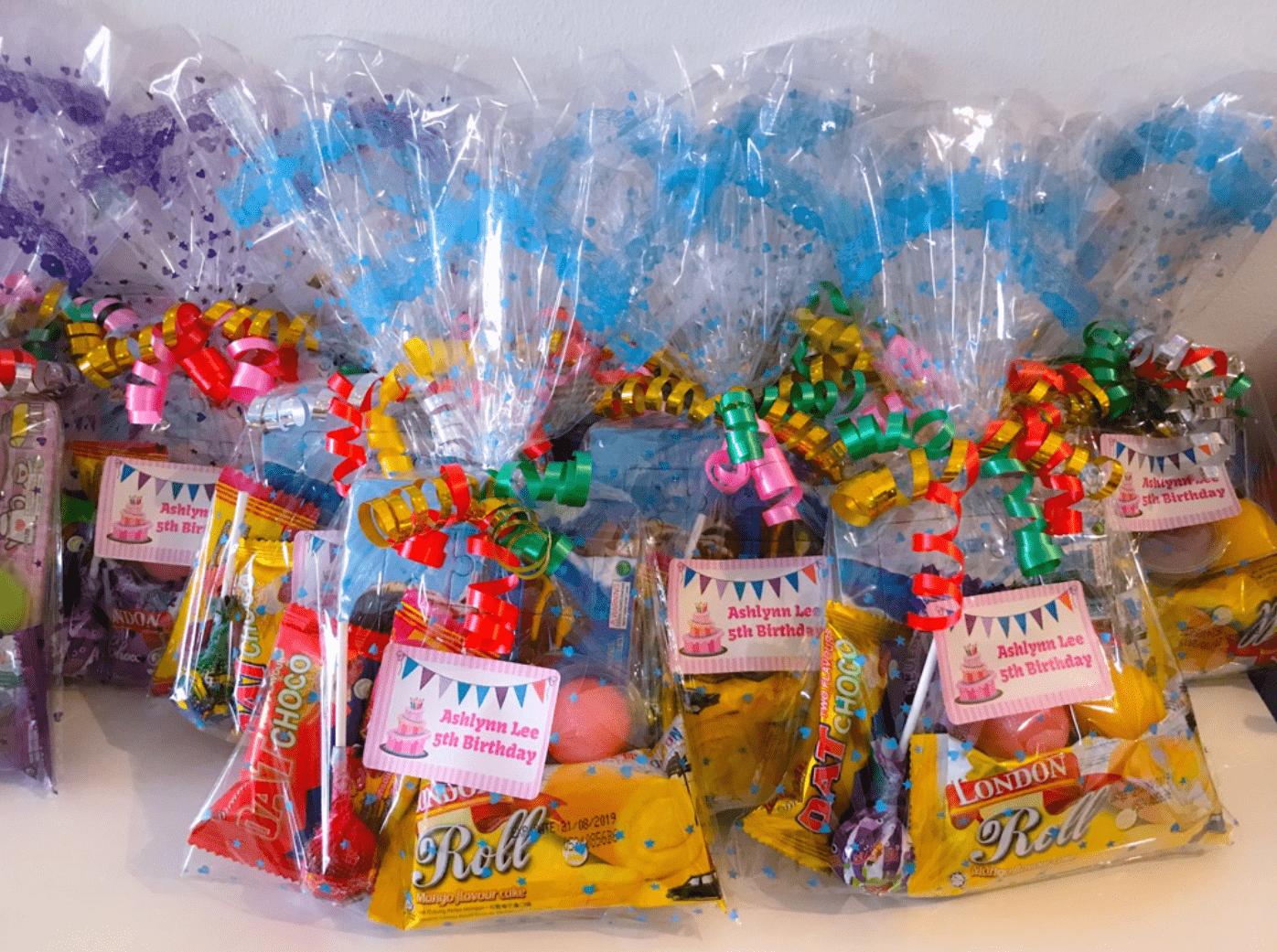 Birthdays in Singapore - Goodie Bags
