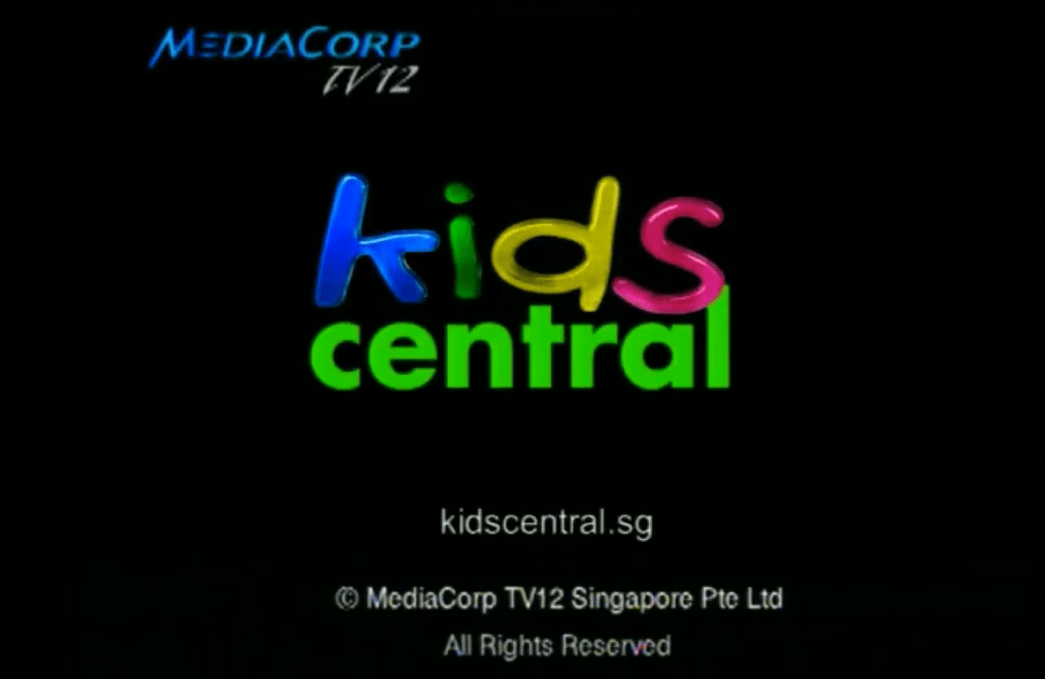 Kids Central Mediacorp Channel Singapore