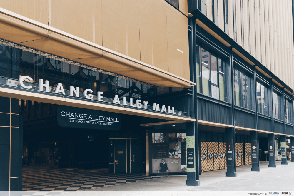 Change Alley Mall