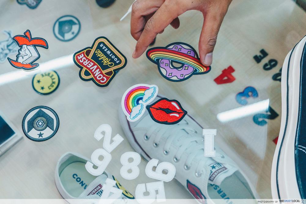 Converse-Jewel-Changi - shoe patches