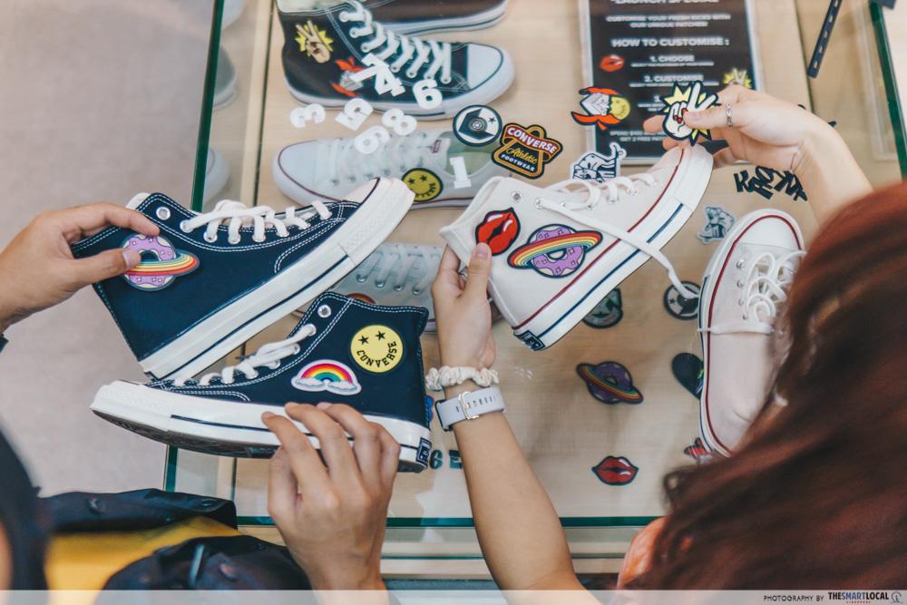 Converse-Jewel-Changi - customisable shoes