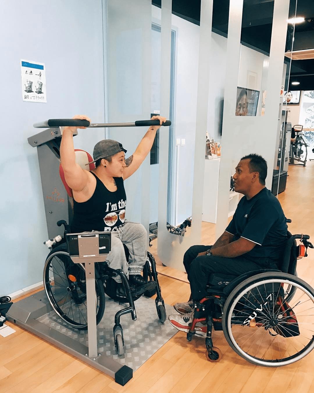 Enabling Village ActiveSG Gym