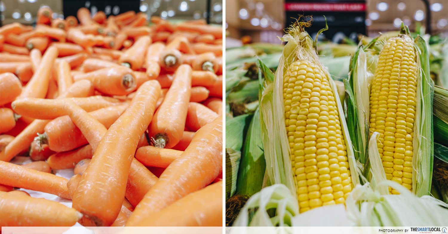 giant lower prices that last carrots and corn