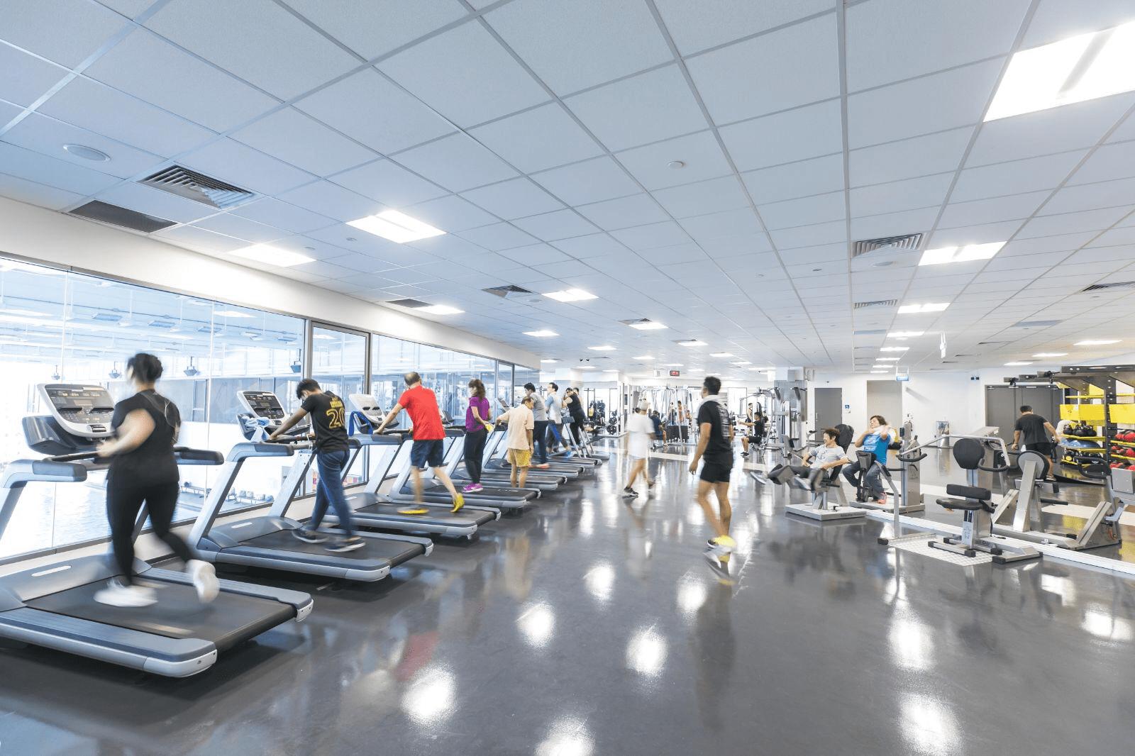 Heartbeat@Bedok ActiveSG Gym