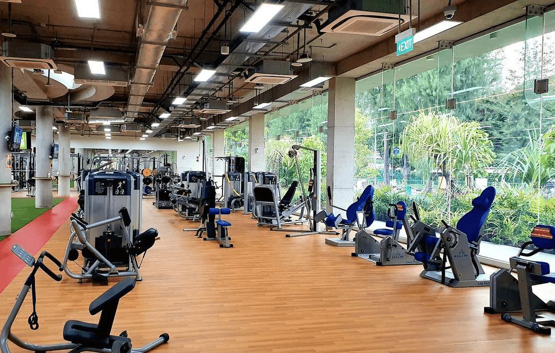 Jurong Lake Gardens ActiveSg Gym