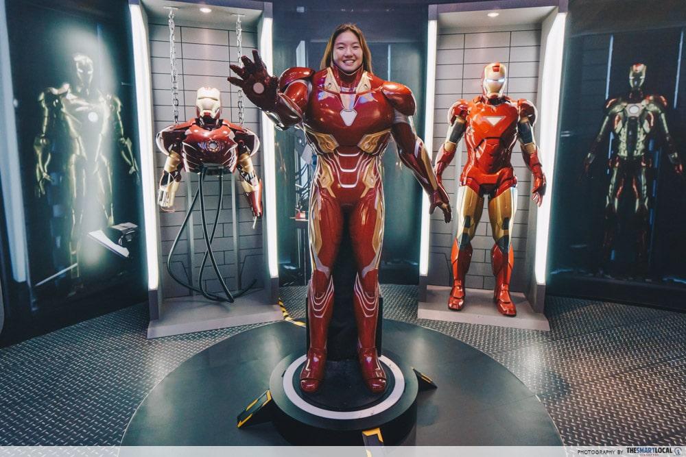 Iron Man costume Madame Tussauds